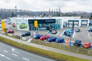 Salon Dealera Renault w Katowicach