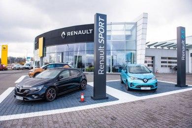 Salon Renault w Katowicach